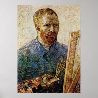 Vincent van Gogh Self Portrait, Post Impressionism Poster
