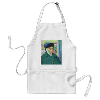 Vincent Van Gogh Self Portrait with Bandaged Ear Standard Apron