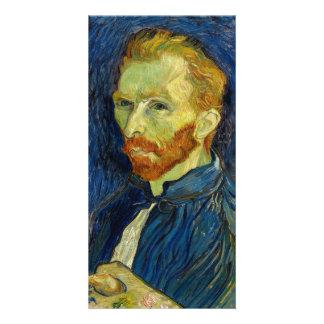 Vincent Van Gogh Self Portrait With Palette Photo Cards