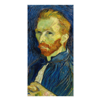 Vincent Van Gogh Self Portrait With Palette Photo Cards