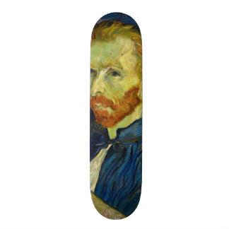 Vincent Van Gogh Self Portrait With Palette 19.7 Cm Skateboard Deck