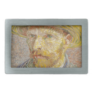 Vincent Van Gogh Self Portrait with Straw Hat Art Belt Buckles