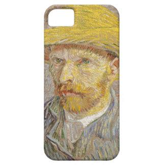 Vincent Van Gogh Self Portrait with Straw Hat Art iPhone 5 Case
