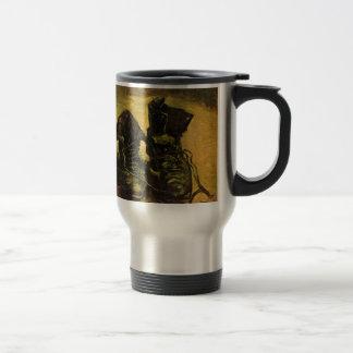 Vincent Van Gogh Shoes Stainless Steel Travel Mug