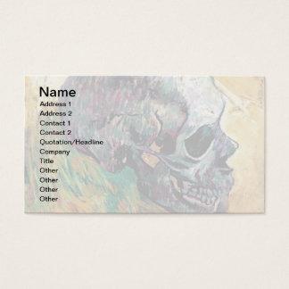 Vincent Van Gogh - Skull In Profile - Fine Art Business Card