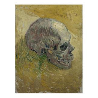Vincent van Gogh Skull Profile GalleryHD Fine Art Postcard