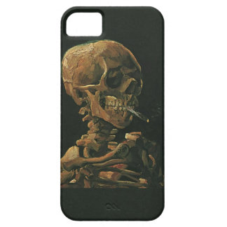 Vincent van Gogh Skull Smoking Cigarette iPhone 5 Cases