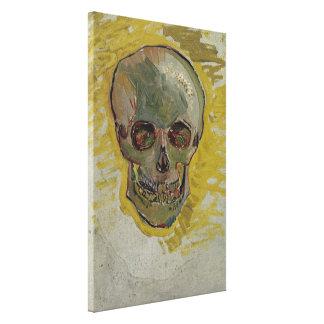 Vincent van Gogh Skull Vintage Fine Art GalleryHD Canvas Print