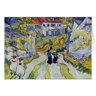 Vincent van Gogh - Stairway at Auvers Card