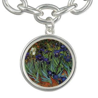 Vincent Van Gogh Star Irises Fine Art Bracelet