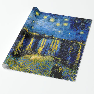 Vincent Van Gogh Starry Night 1888 Wrapping Paper