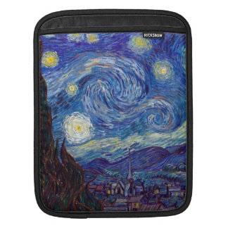VINCENT VAN GOGH - Starry night 1889 iPad Sleeve