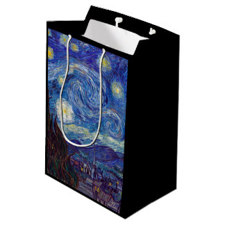 VINCENT VAN GOGH - Starry night 1889 Medium Gift Bag