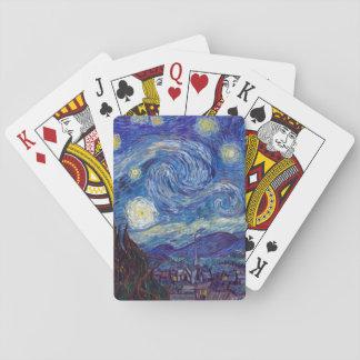 VINCENT VAN GOGH - Starry night 1889 Poker Deck