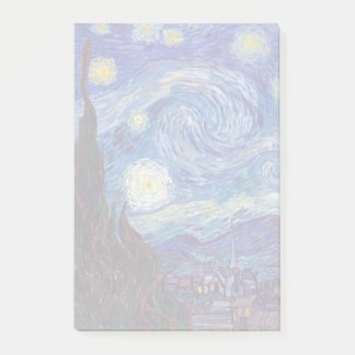VINCENT VAN GOGH - Starry night 1889 Post-it Notes