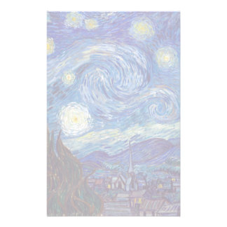VINCENT VAN GOGH - Starry night 1889 Stationery