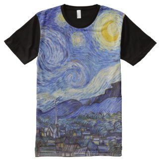 "Vincent van Gogh, ""Starry Night"" All-Over Print T-Shirt"