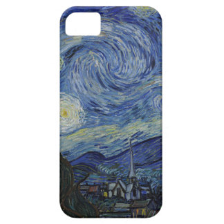 Vincent Van Gogh - Starry Night. Art Painting Case For The iPhone 5