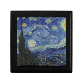 Vincent Van Gogh - Starry Night. Art Painting Gift Box