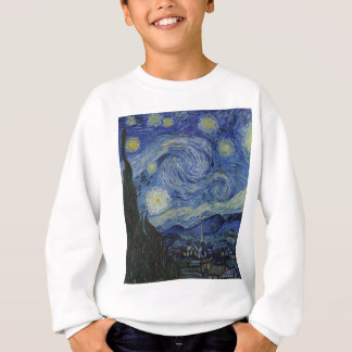 Vincent Van Gogh - Starry Night. Art Painting Sweatshirt
