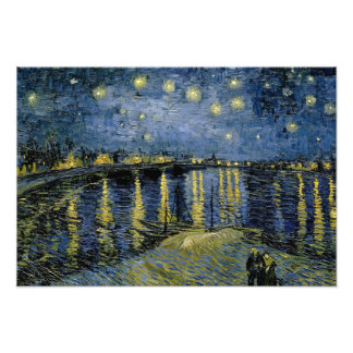 Vincent van Gogh - Starry Night Art Photo