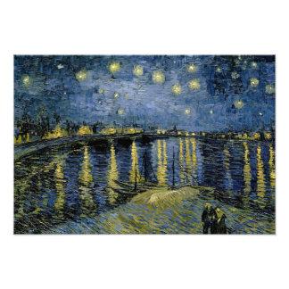 Vincent van Gogh - Starry Night Art Photo