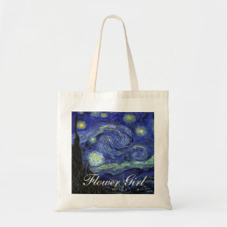 Vincent van Gogh, Starry Night Budget Tote Bag