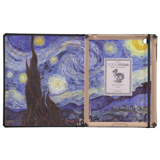 Vincent Van Gogh Starry Night Case For iPad