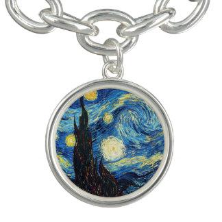 Vincent Van Gogh Starry Night Fine Art Bracelet