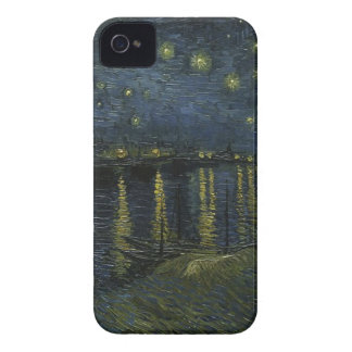 Vincent Van Gogh Starry Night Over the Rhone Art iPhone 4 Case-Mate Case