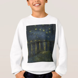 Vincent Van Gogh Starry Night Over the Rhone Art Sweatshirt