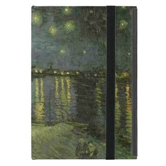 Vincent Van Gogh Starry Night Over the Rhone Cases For iPad Mini