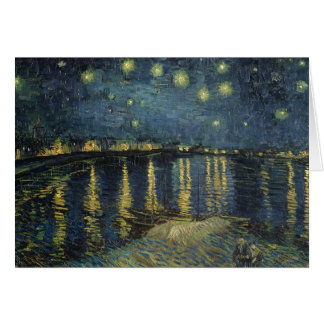 Vincent van Gogh | Starry Night Over the Rhone Greeting Card