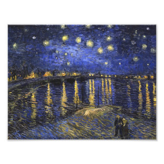 Vincent Van Gogh Starry Night Over The Rhone Photo Print