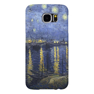 Vincent van Gogh-Starry Night over the Rhone Samsung Galaxy S6 Cases