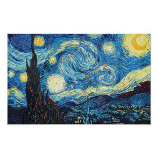 Vincent Van Gogh Starry NIght Painting Poster