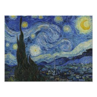 Vincent van Gogh - Starry Night Photo