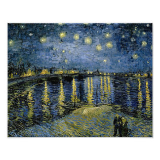 Vincent van Gogh - Starry Night Photo Art