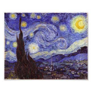 Vincent Van Gogh Starry Night Art Photo