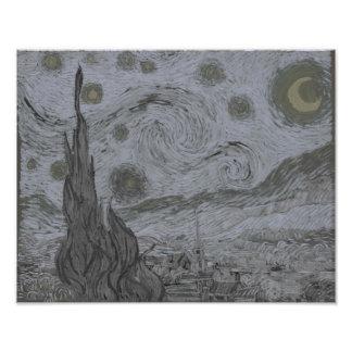 Vincent Van Gogh - Starry Night Photo Print