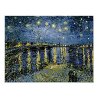 Vincent van Gogh - Starry Night Photographic Print