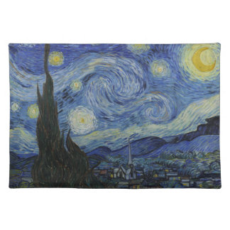 Vincent van Gogh Starry Night Place Mat