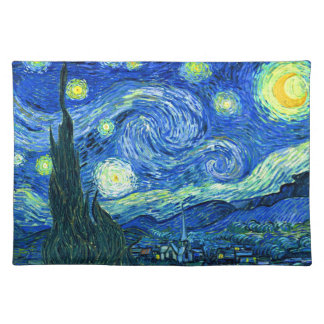vincent van gogh starry night placemat