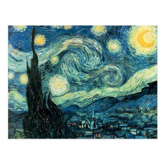 Vincent Van Gogh Starry Night Postcard