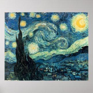 Vincent Van Gogh - Starry Night Poster