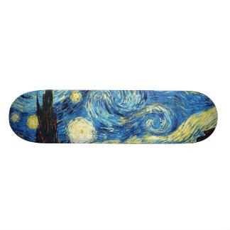 Vincent Van Gogh - Starry Night Skate Board Decks
