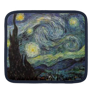 Vincent van Gogh, Starry Night Sleeves For iPads