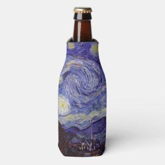 Vincent Van Gogh Starry Night Vintage Fine Art Bottle Cooler