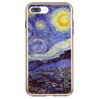 Vincent Van Gogh Starry Night Vintage Fine Art Incipio DualPro Shine iPhone 8 Plus/7 Plus Case