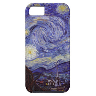 Vincent Van Gogh Starry Night Vintage Fine Art iPhone 5 Covers